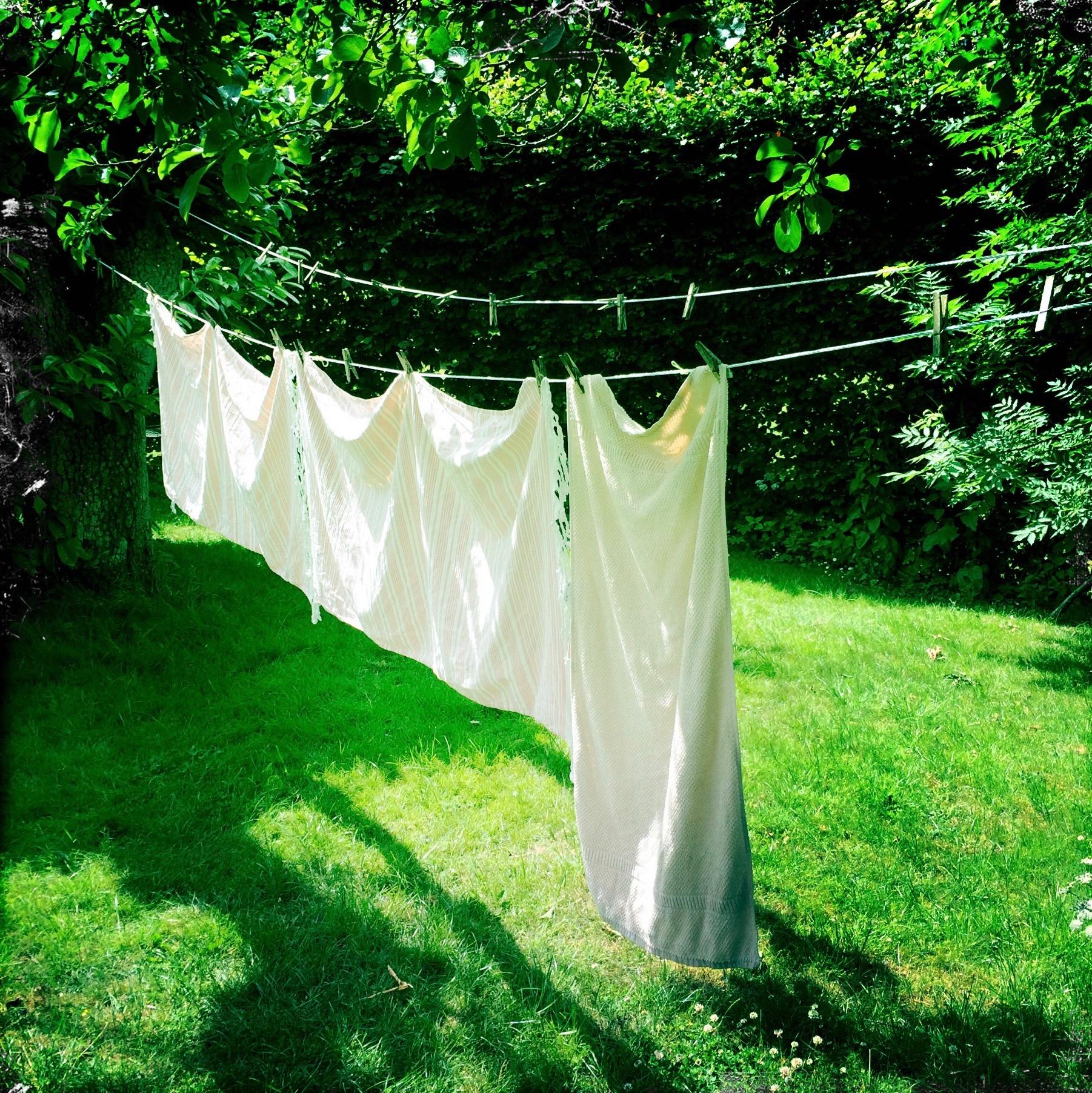 Tør tøj udenfor